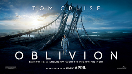 FREE Oblivion movie screening.