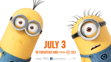 FREE Despicable Me 2 screening...